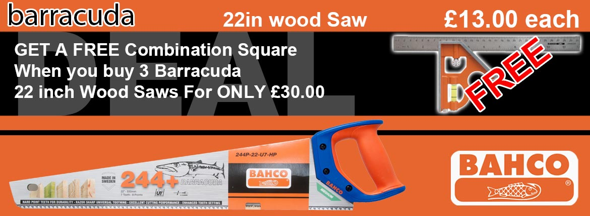 Barracuda Wood Saw Offer