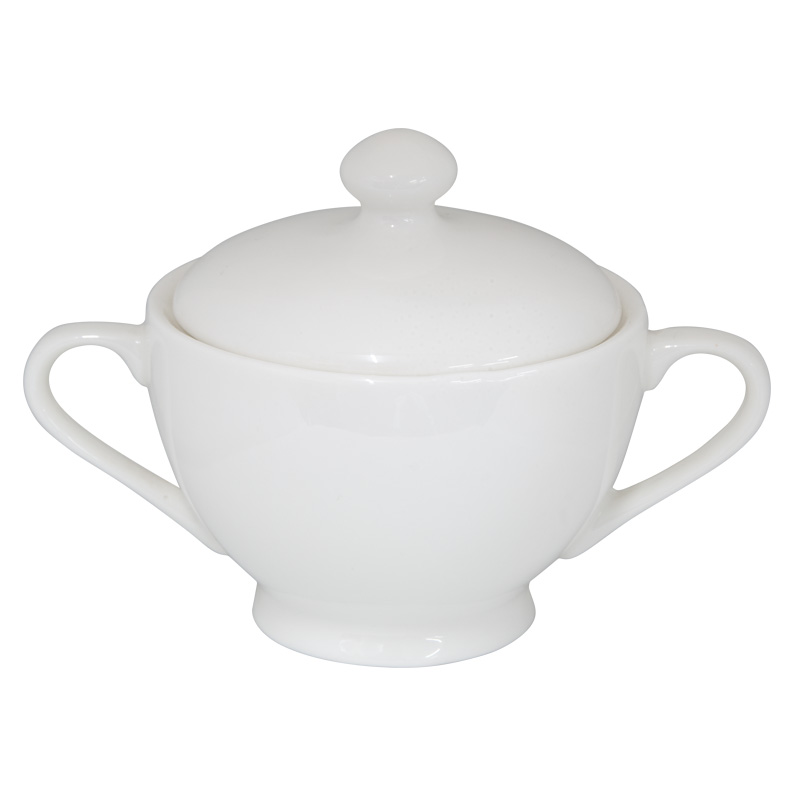 Buttercup Bone China Sugar Bowl With Lid