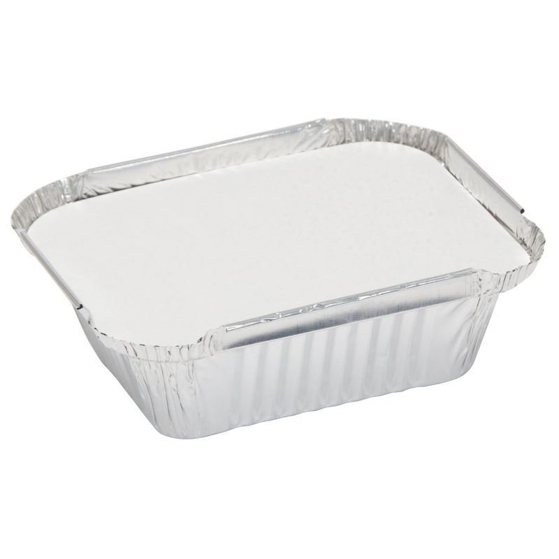 Caroline Foil Trays with Lids, 96x121x41cm, Pack of 12 (1000)