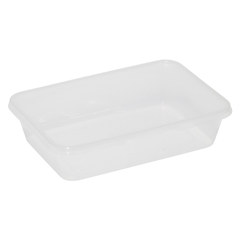 Caroline Plastic Trays With Lids 500ml, Pack of 6 (2001)