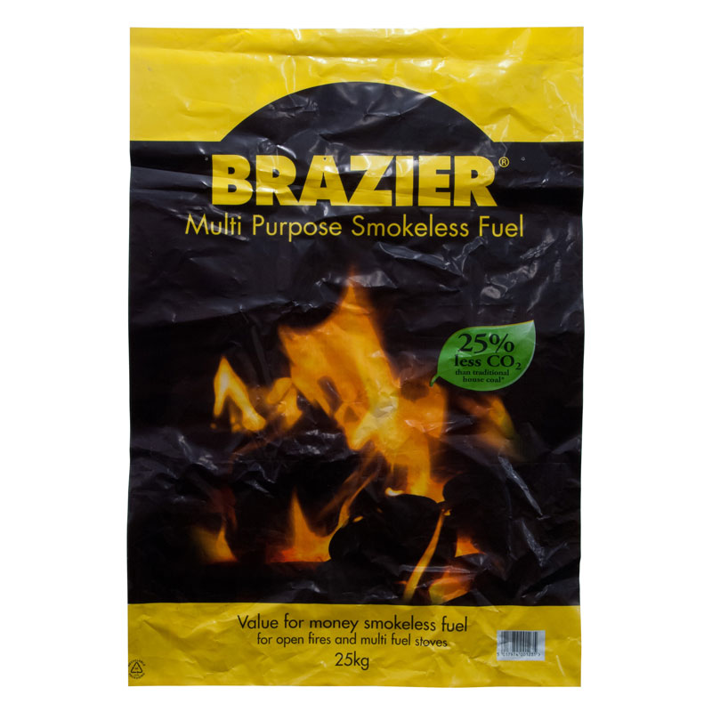 CPL Brazier Multi-Purpose Smokeless Fuel, 25KG