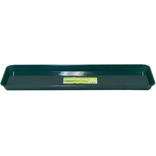 Garland Green Plastic 48cm Windowsill Tray