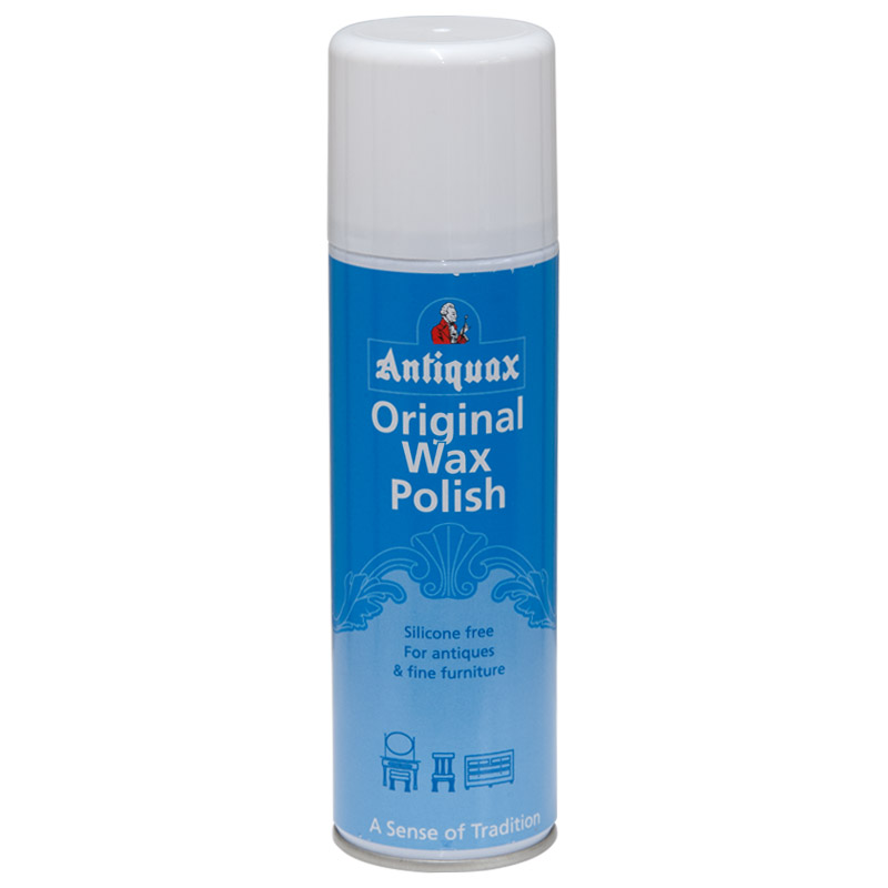 Antiquax Original Wax Polish Aerosol Spray, 250ml