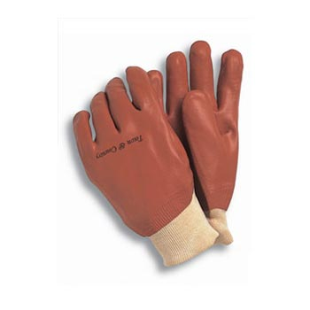 Town & Country PVC Coated Waterproof Gloves Size 9-10 - TGL402