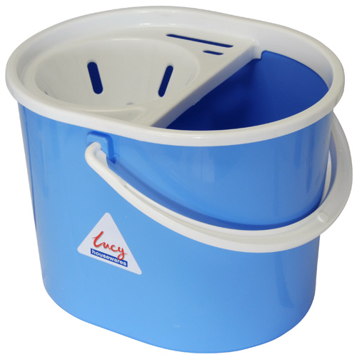 Lucy Mop Pail And Wringer Set - Cornflower