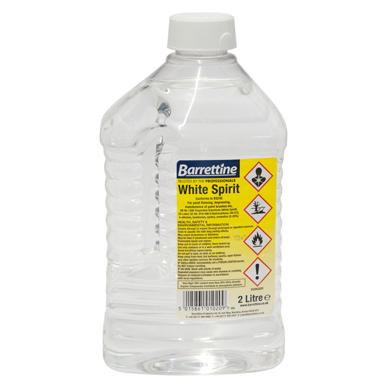 Barrettine White Spirit, 2 Litres