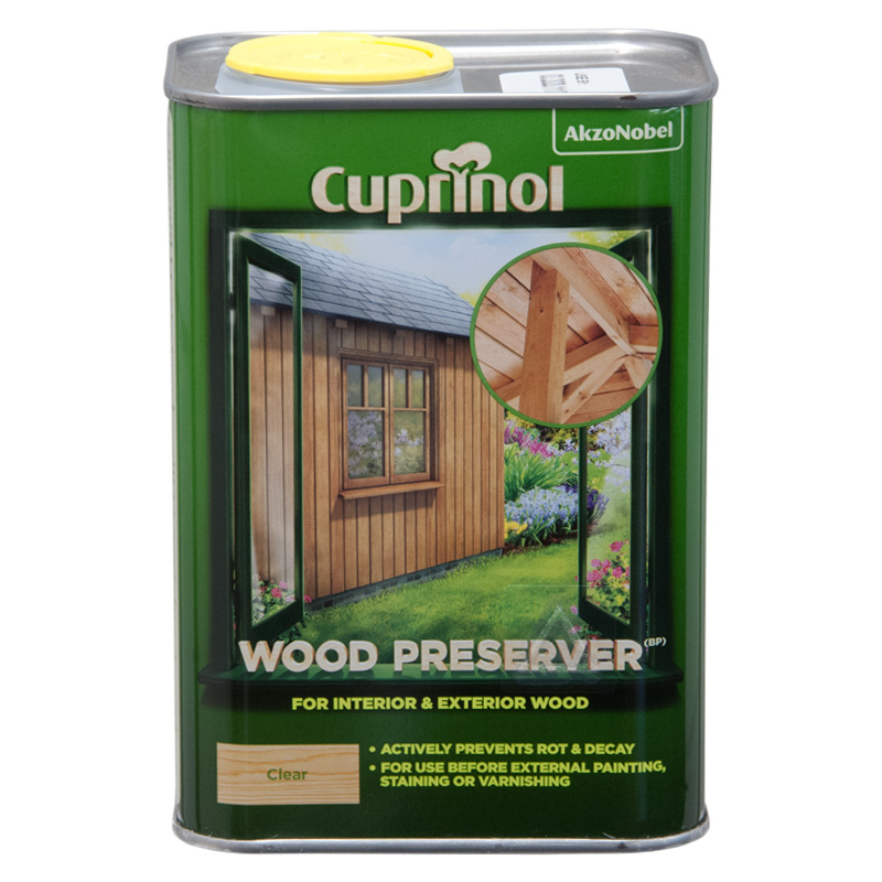 Cuprinol Clear Wood Preserver - 1 Litre