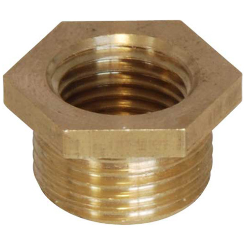 Brass Bush - 3/8 BSP Male to 1/4 BSP Female