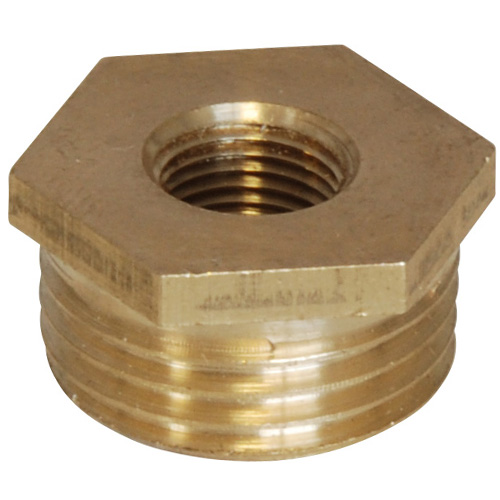 Brass Bush - 1/2 BSP Male to 1/8 BSP Female