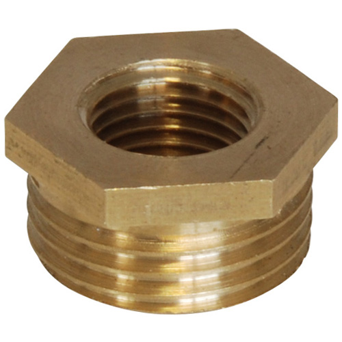 Brass Bush - 1/2 BSP Male to 1/4 BSP Female