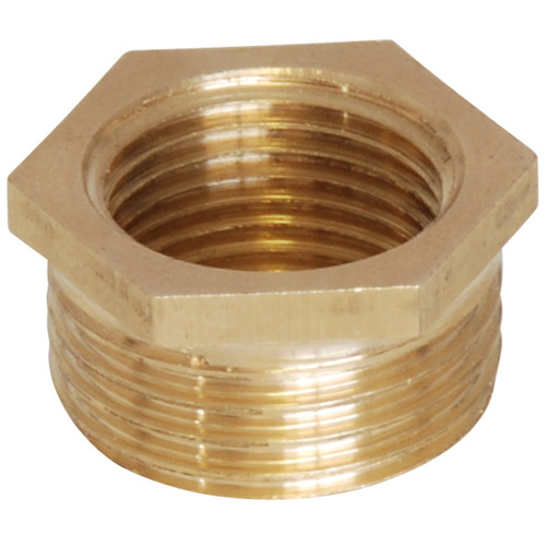 Brass Bush - 1/2 BSP Male to 3/8 BSP Female