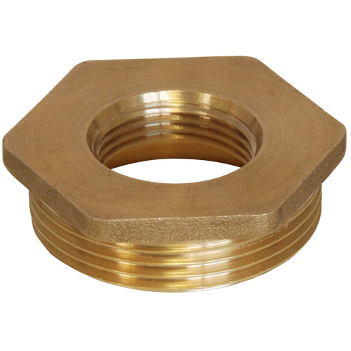 Brass Bush - 1 1/2 BSP Male to 3/4 BSP Female