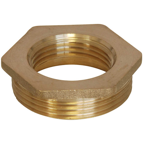 Brass Bush - 1 1/2 BSP Male to 1 BSP Female
