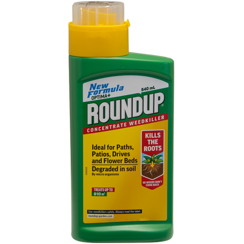 Roundup Optima+ Concentrate Weedkiller - 0.54 Litre