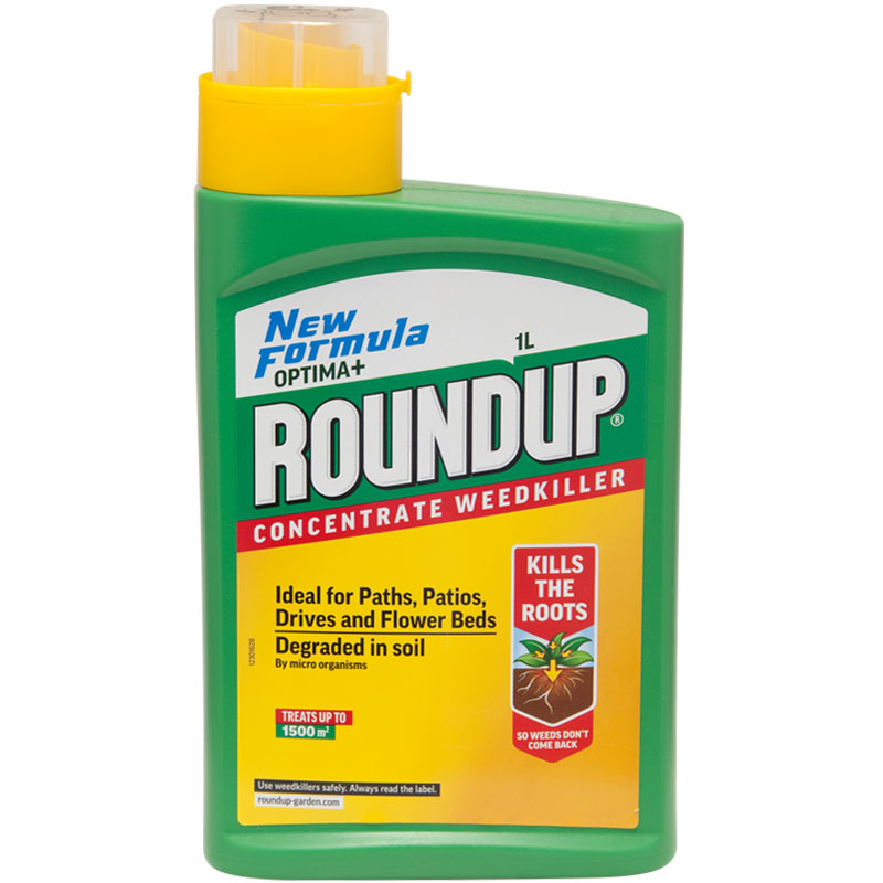 Roundup Optima+ Concentrate Weedkiller - 1 litre