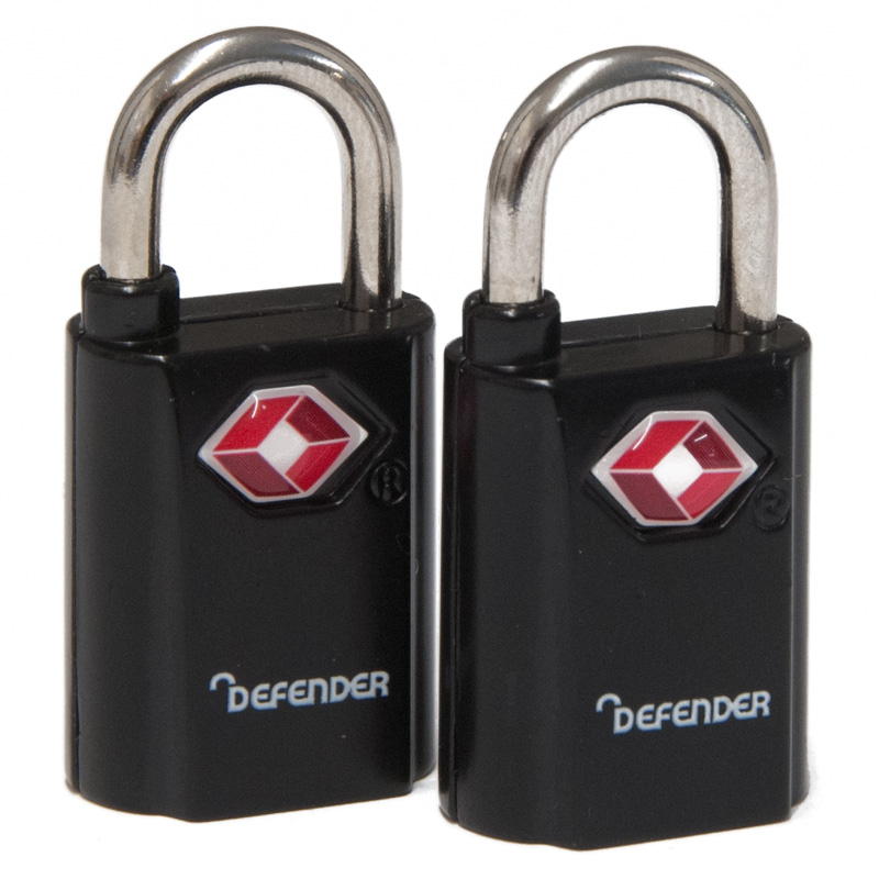 Defender Leisure Padlock, Pack of 2 (DFTSA20T)