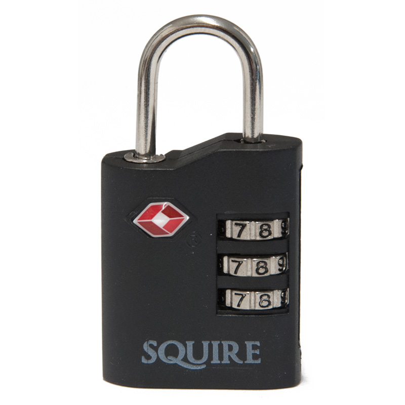 Defender 3 Wheel Combination Travel Padlock (TSACOMBI35)