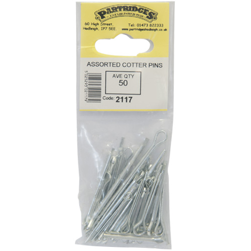 Cotter Pins (Assorted) - Ave Qty 50 (2117)