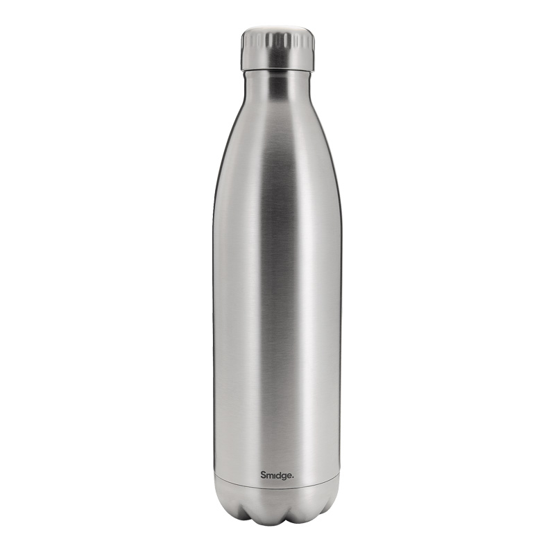 Smidge Travel Bottle, 750ml, Steel