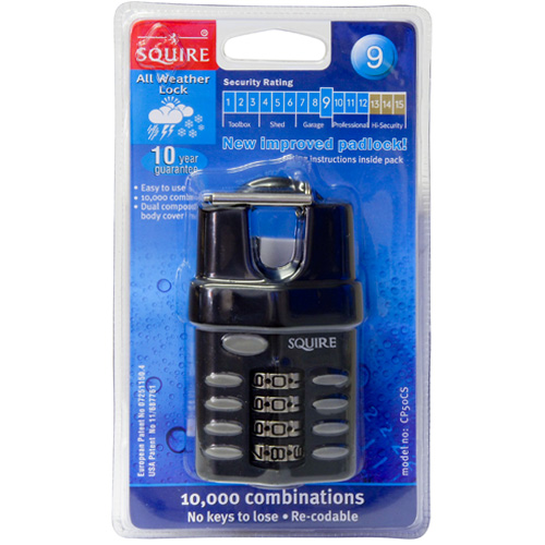 Squire Combination Padlock (CP50CS)