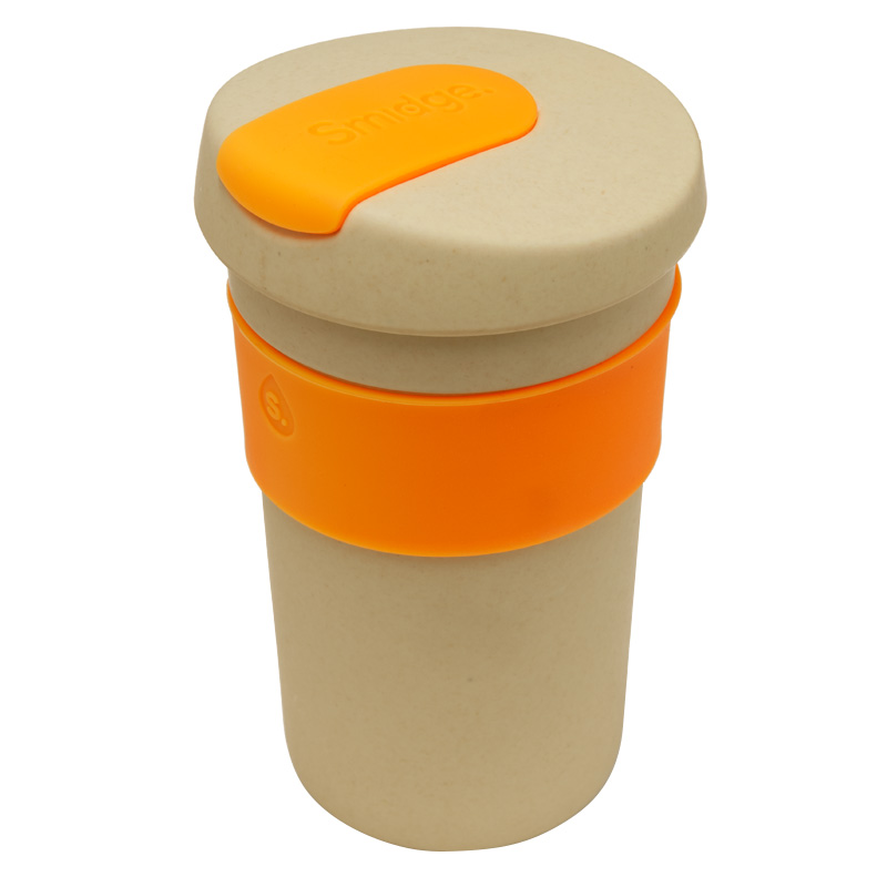 Smidge Coffee Cup 400ml - Natural Sand and Citrus