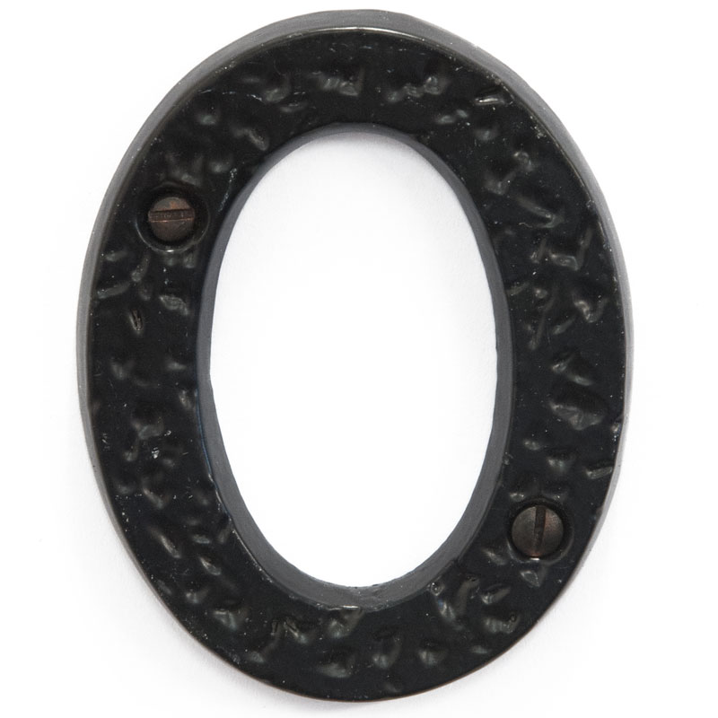 Olde English 3 inch House Door Number 0 (2380)