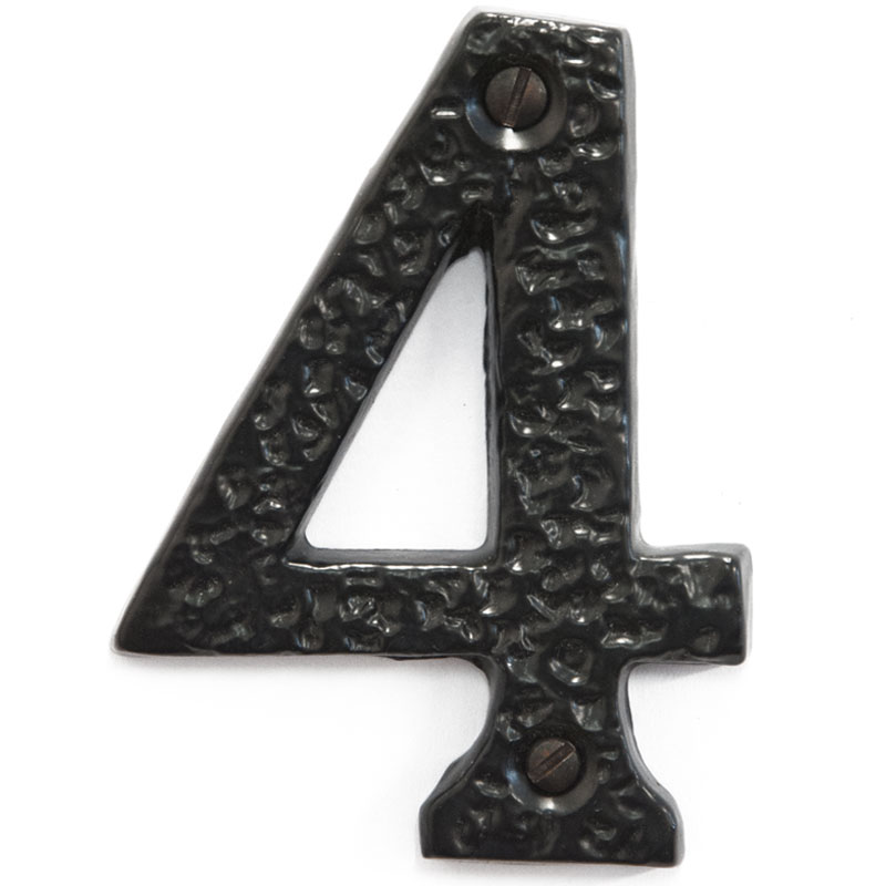 Olde English 3 inch House Door Number 4 (2384)