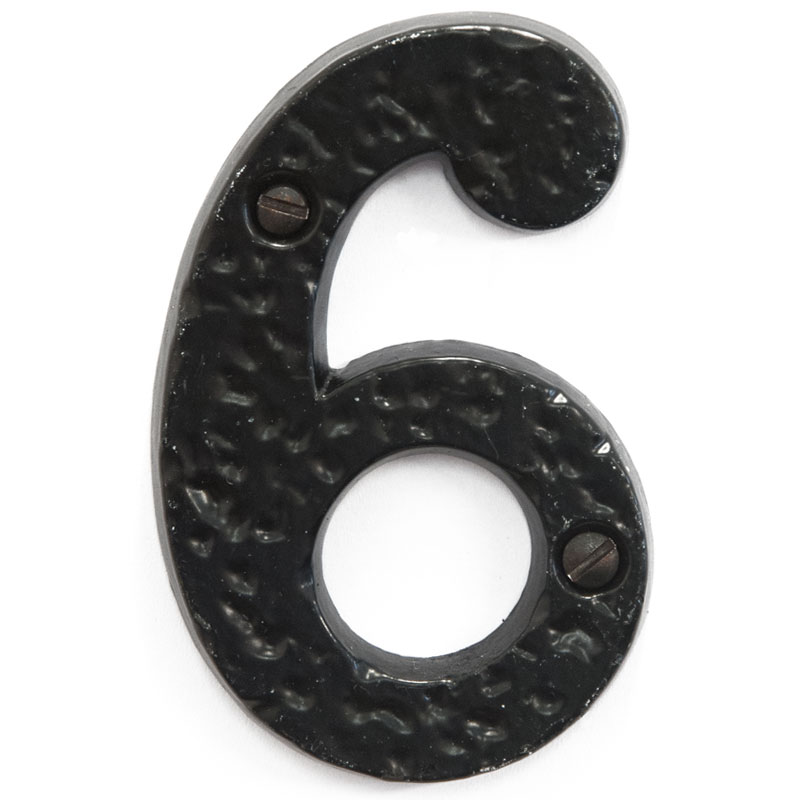 Olde English 3 inch House Door Number 6 (2386)
