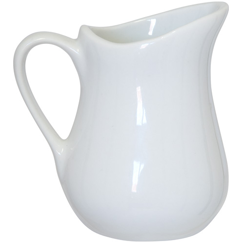 Apollo Milk Jug - 125ml White China Jug - 2421