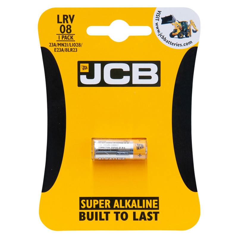 JCB LRV08 12V Super Alkaline Battery