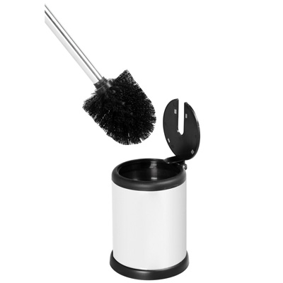 Showerdrape Aero Toilet Brush - White