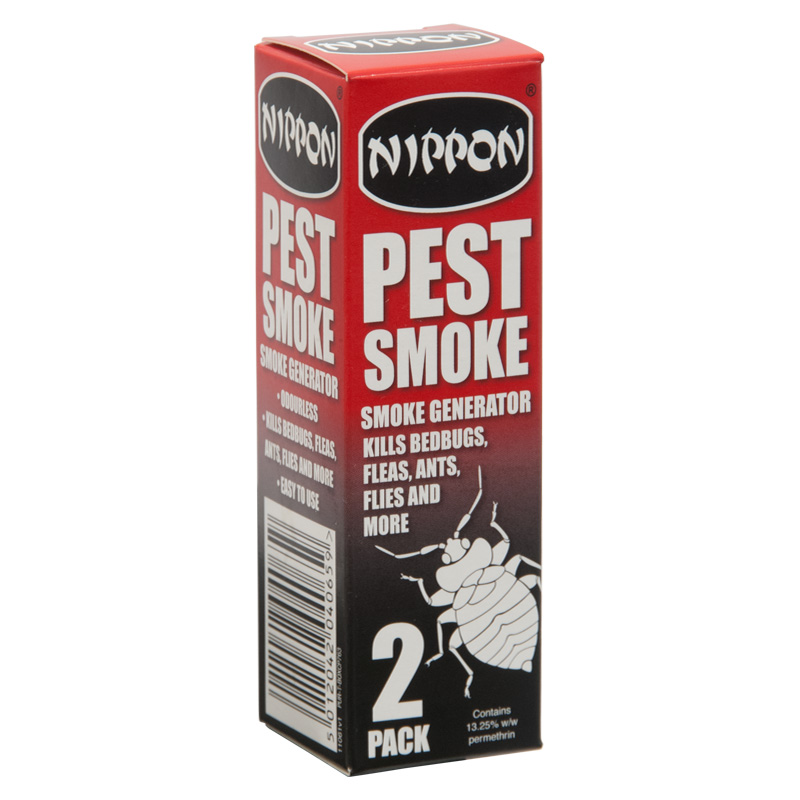 Nippon Pest Smoke - Smoke Generator, Pack of 2
