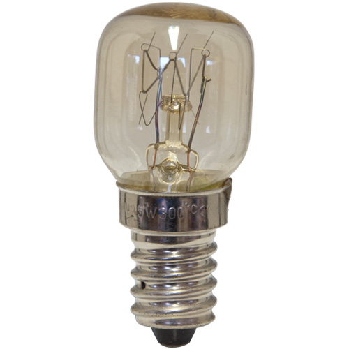 Oven Lamp Bulb Heat Resistant 25W 240V E14 Clear