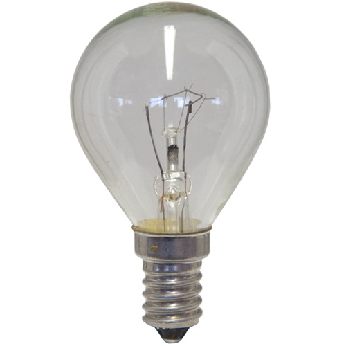 Oven Lamp Bulb Heat Resistant 40W 240V E14 Clear
