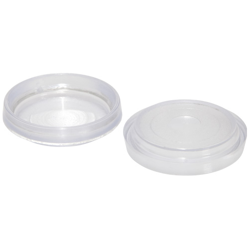 Small Clear Castor Cups - Ave Qty 2 (4805)