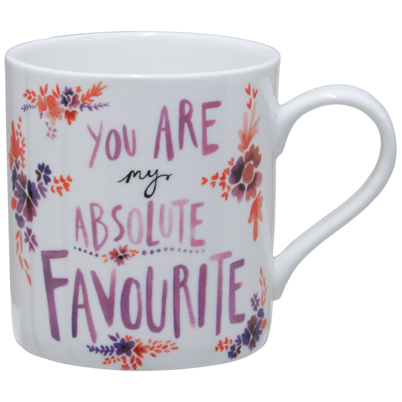 KitchenCraft China Can Mug, 330ml, You Are My Absolute Favourite