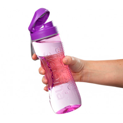 Sistema Hydrate Tritan Active Drink Bottle, 800ml, Assorted Colours