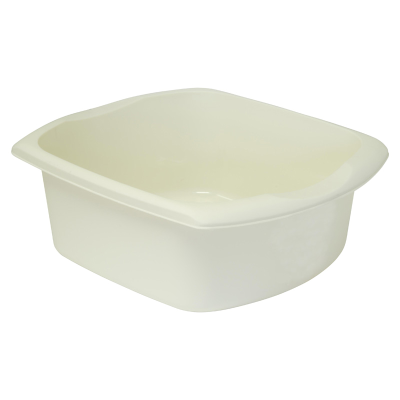 Addis Kitchenware Rectangular Washing-Up Bowl, 9.5L, Linen Effect