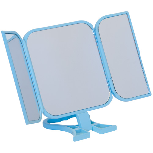 Danielle Folding Travel Mirror 0783 Blue