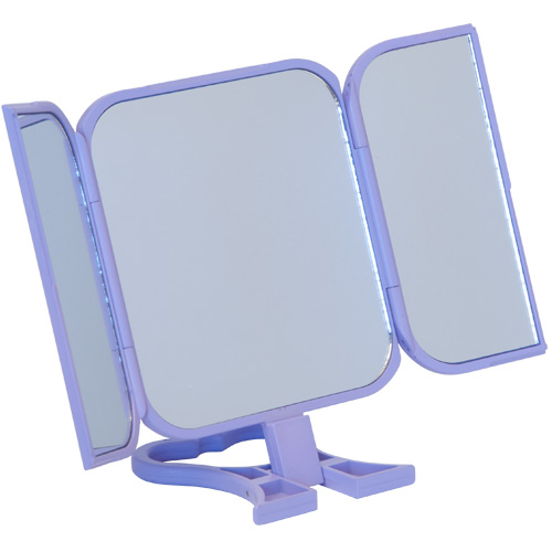Danielle Folding Travel Mirror 0784 Purple