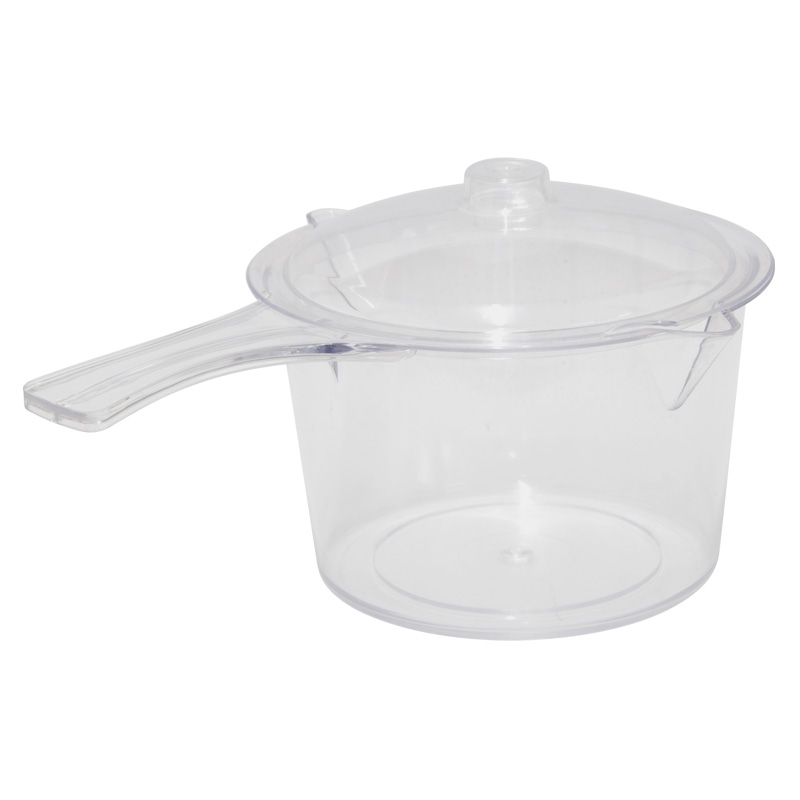 Easy-Cook Microwave Non Staining Saucepan With Lid, 900ml
