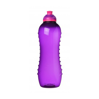 Sistema Hydrate Twist'n'Sip Squeeze Bottle, 620ml, Assorted Colours