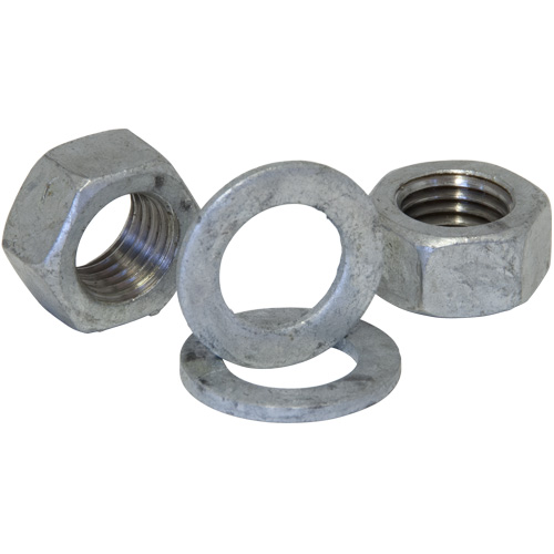 No. 1739 Galvanised Pack of 2 M20 Grade 8.8 Nuts & Washers