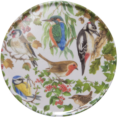 Melamine Teapot Stand, Birds of Britain, M8