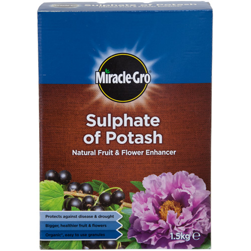 Miracle Gro Sulphate of Potash 1.5kg - Minimum qty of 3