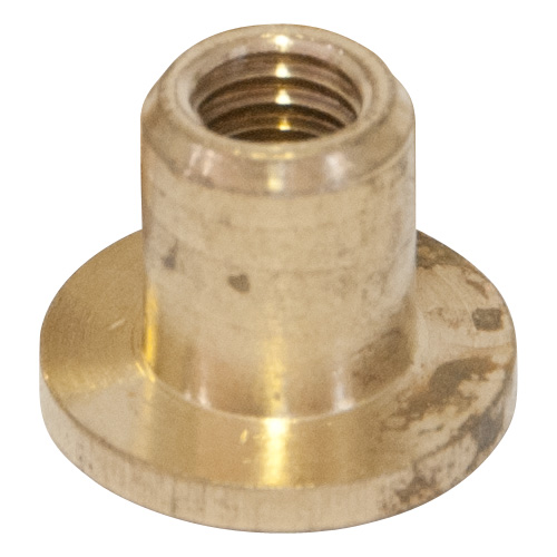 Brass M6 Sleeve Nuts - Ave Qty 4 (9327) - Click Image to Close