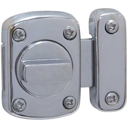 Chromed Door Latch - Qty 1 (9330)