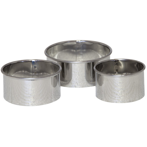 Tala Stainless Steel Round Pastry Cutters - Set of 3