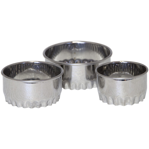Tala Crinkle Pastry Cutters Set Of 3
