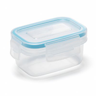 Addis Clip & Close Square Food/Liquid Container 0.18L
